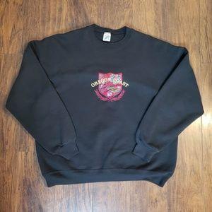 VTG Jerzees Oregon Coast Crewneck Sweater Size XL